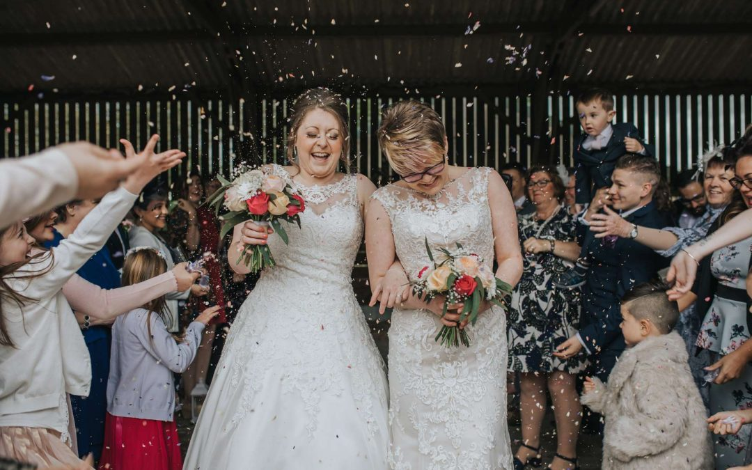Woodland Valley Farm Cornwall Wedding Amy Sarah