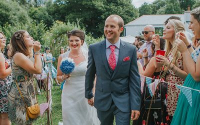 DIY Wedding Truro Cornwall Sam and Chloe Photography