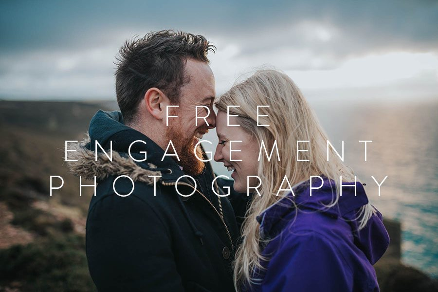 Free Engagement Couple Photography Cornwall