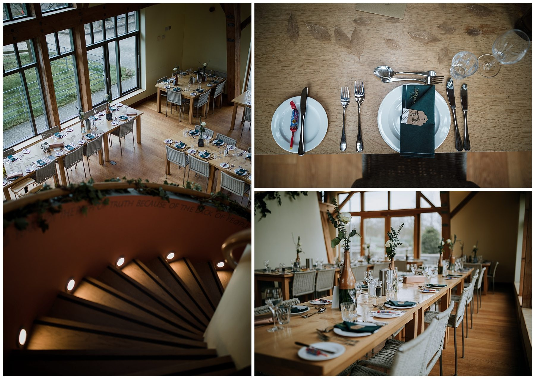 Sheepdrove organic farm wedding breakfast