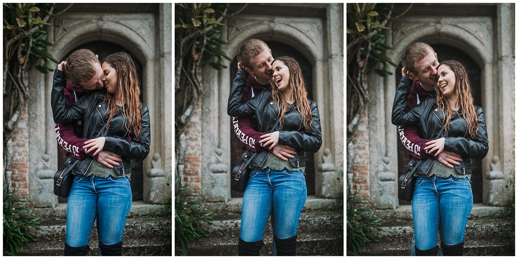 Couple engagement photography in Cornwall