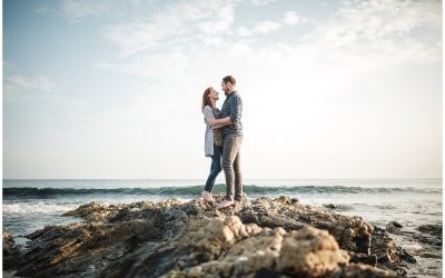 Professional Engagement Couple Pre wedding Photography Cornwall