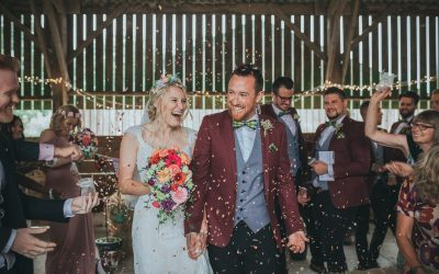 Rustic Barn Farm Wedding Cornwall Photography