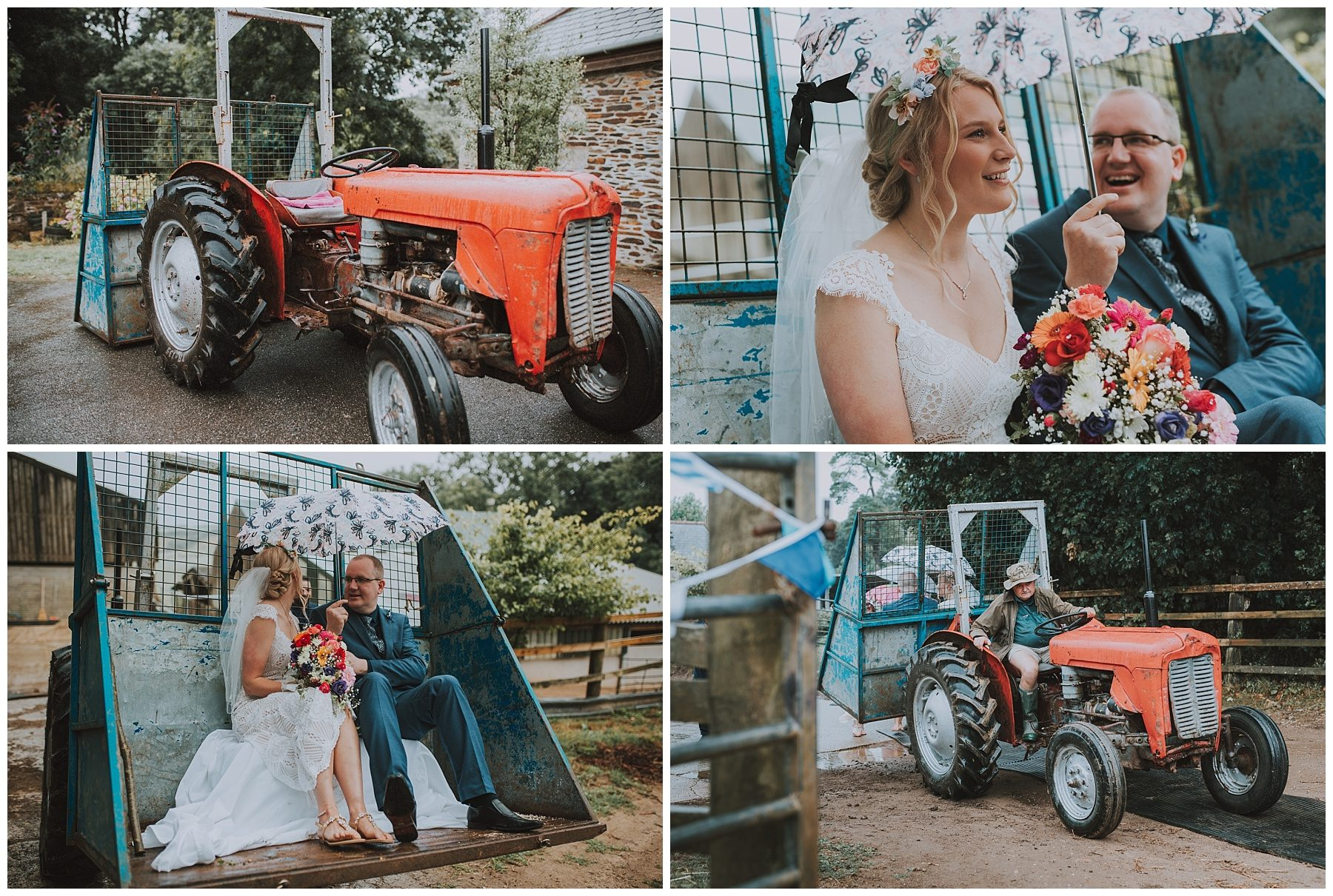 Tractor transport for Bride