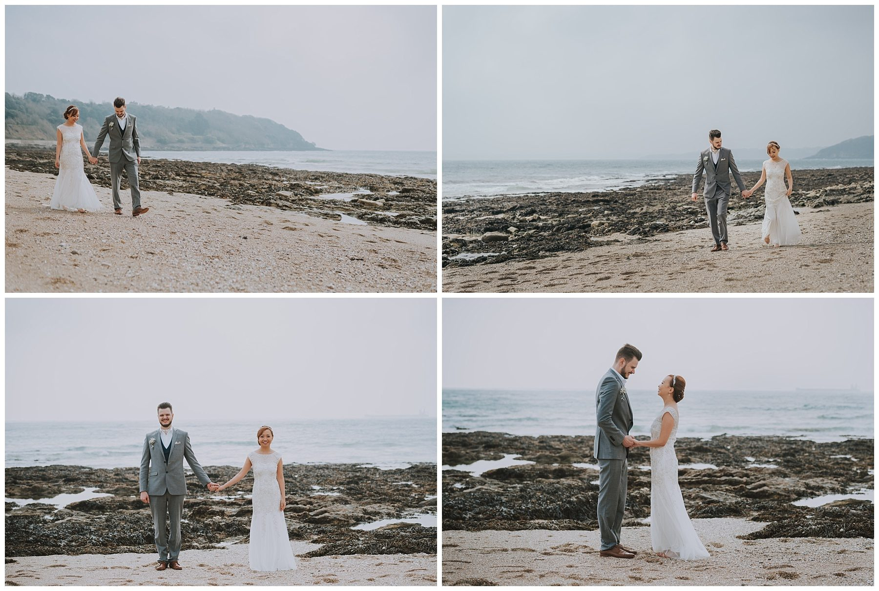 Falmouth Beach Wedding photographer Cornwall
