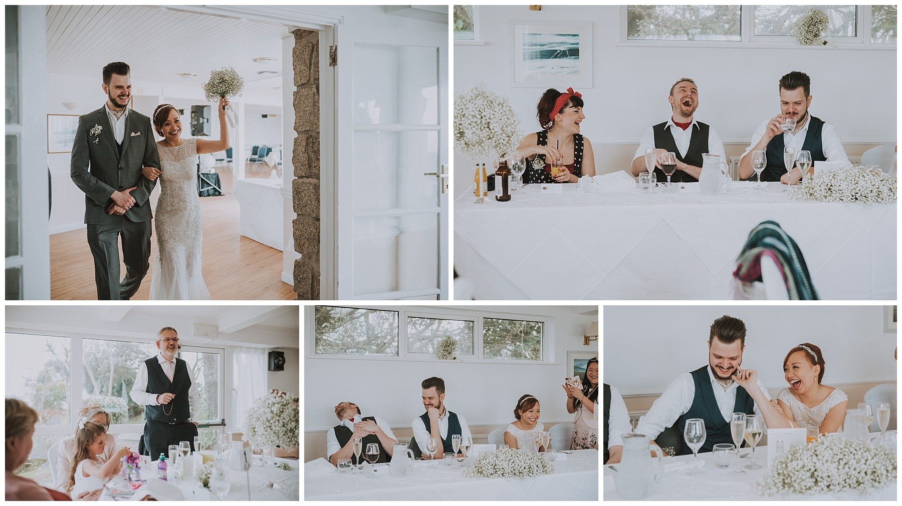 Falmouth Cornwall wedding speech photographer