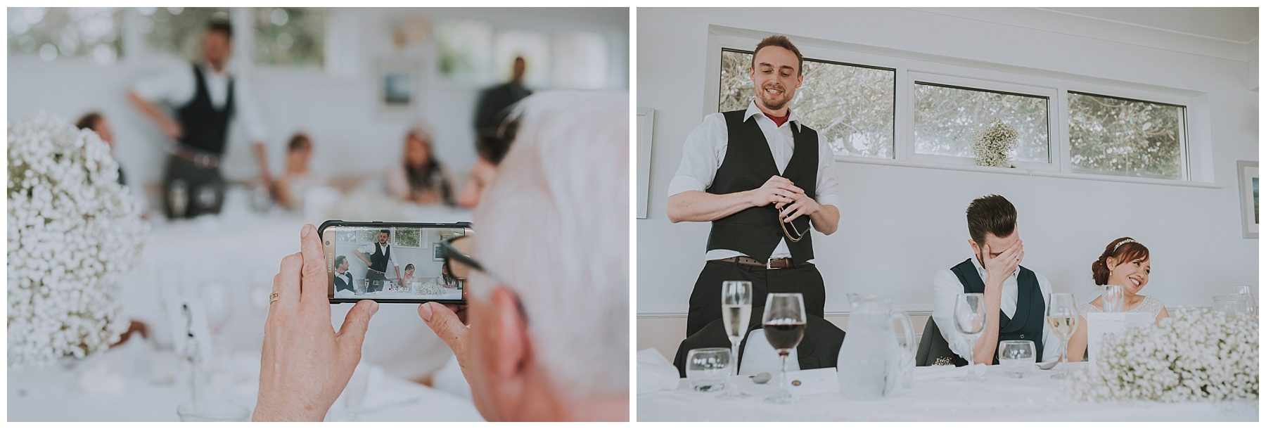 Best man speech wedding falmouth cornwall photographer