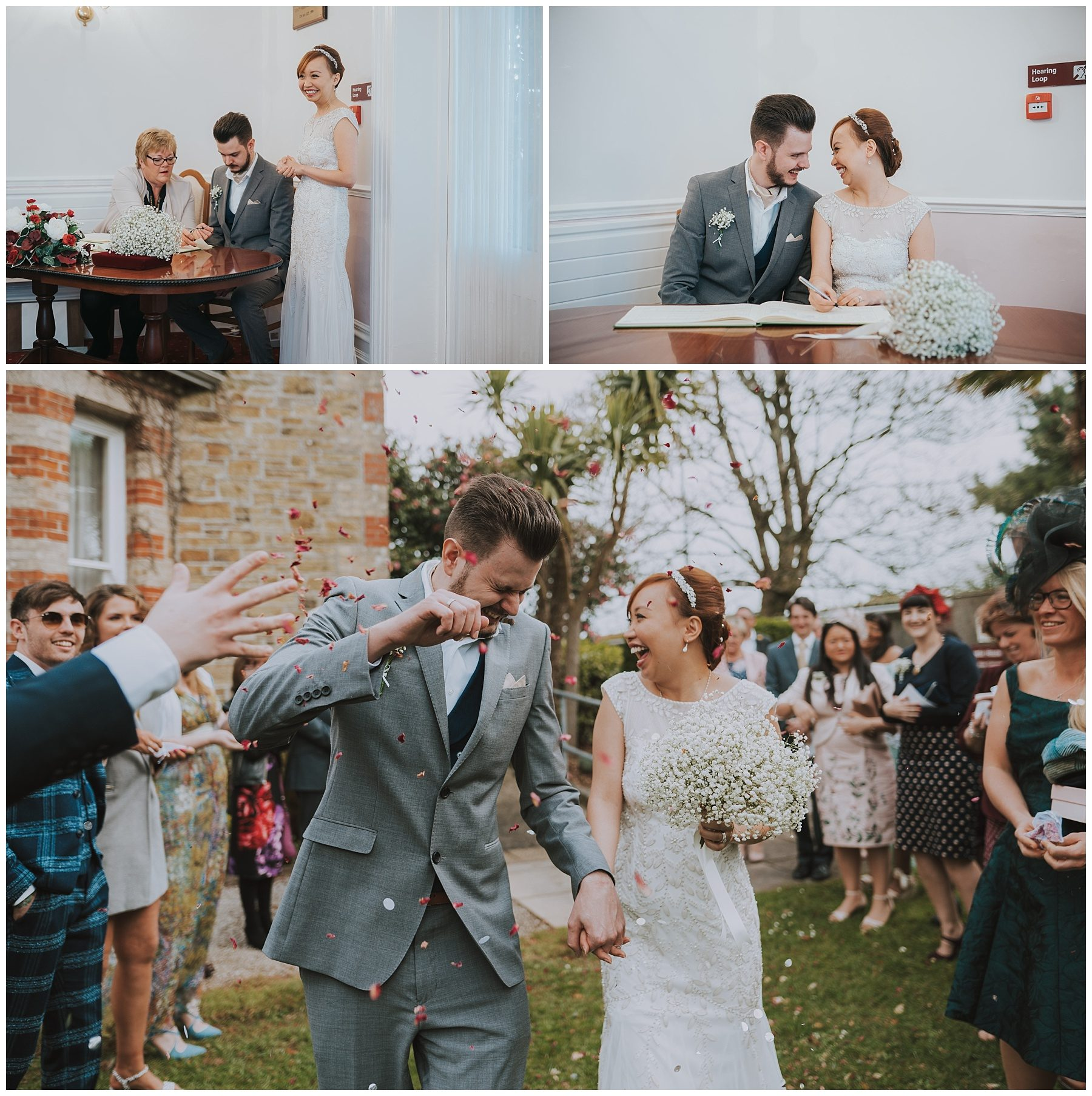 Truro Wedding Photographer registry office