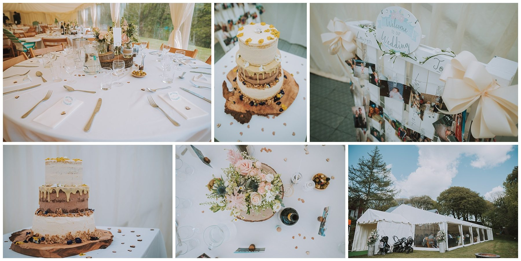 Cornwall wedding marquee detail photography