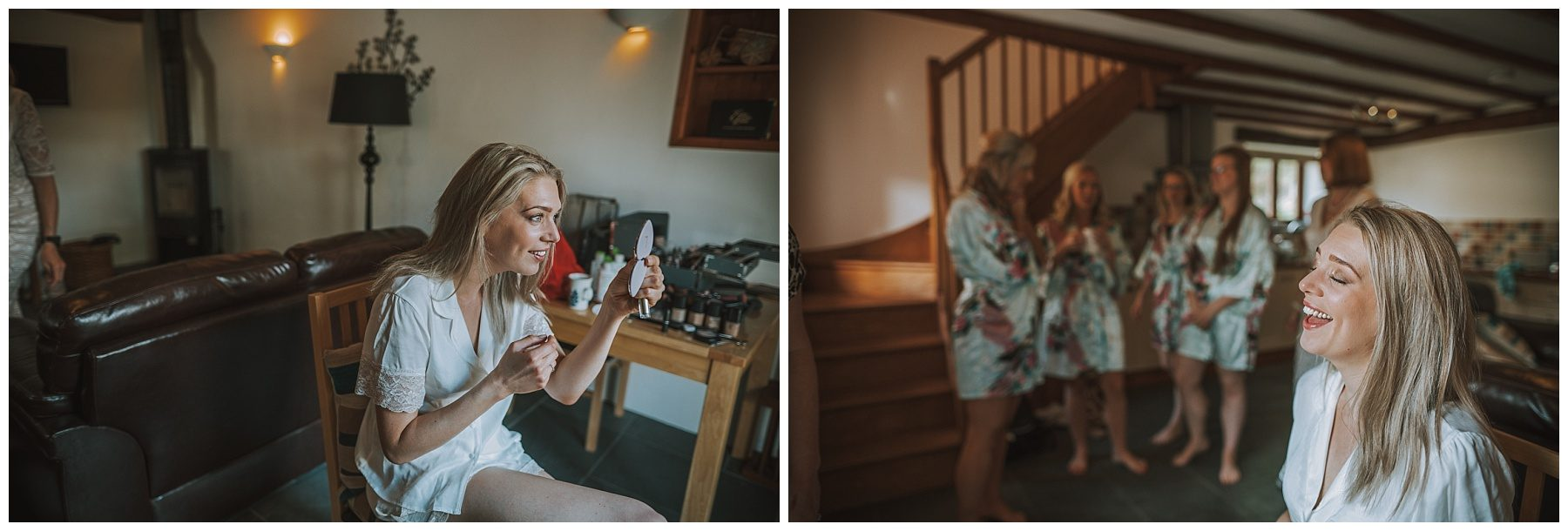 Ta Mill Make up Cornwall Wedding Photographer