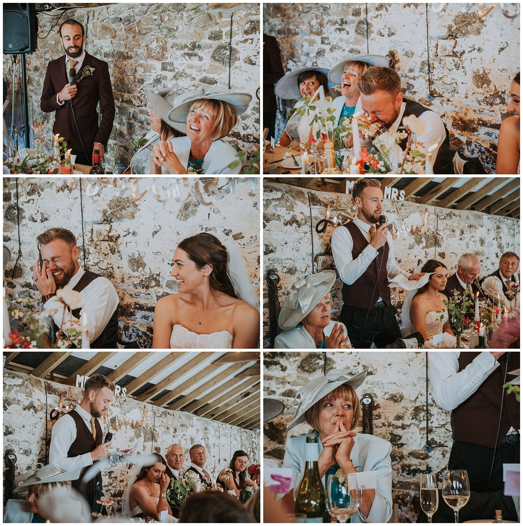 Pengenna manor cornwall wedding speech