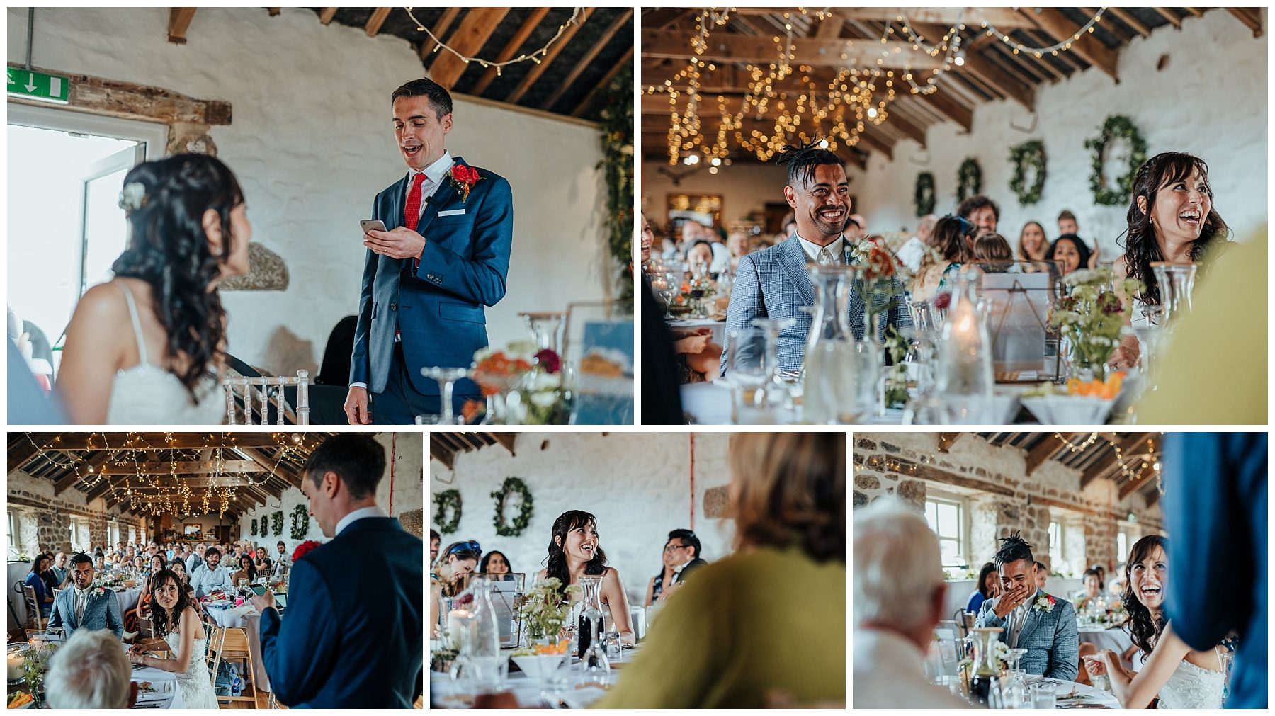 chypraze barn cornwall wedding photographer