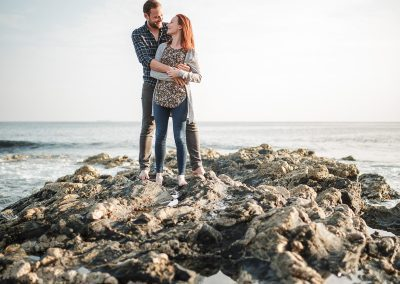 033Cornwall Engagement Couple Shoot Photography