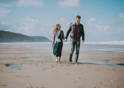 047Cornwall Engagement Couple Shoot Photography
