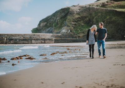 060Cornwall Engagement Couple Shoot Photography