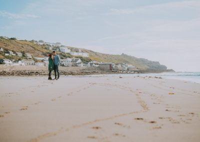 073Cornwall Engagement Couple Shoot Photography