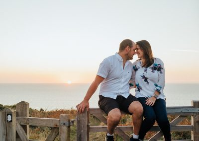 098Cornwall Engagement Couple Shoot Photography
