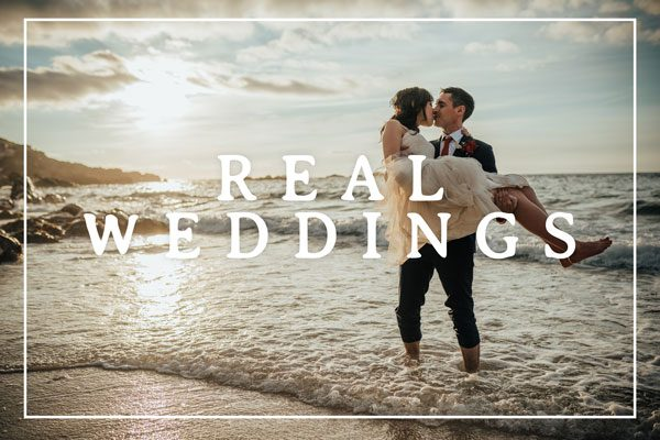 Real Weddings Cornwall