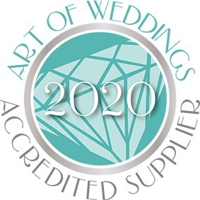 Art of Weddings Accredited Supplier